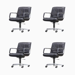 Delta Series Office Chairs from Wilkhahn, 1970s, Set of 4