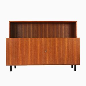 Two-Door Teak Veneer Sideboard with Shelf Attachment from Idee Möbel, 1960s