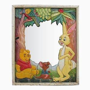 Vintage Spiegel mit Winnie Puuh