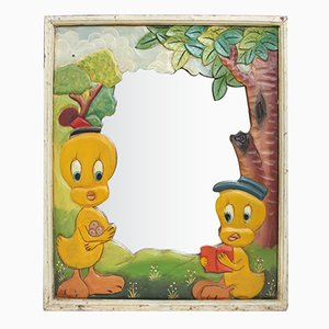 Vintage Tweety Bird Mirror