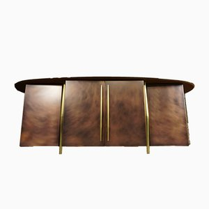 Vintage Sideboard in Copper and Brass from Belgo Chrom