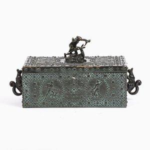 Commode Antique en Bronze par Friedrich Gornik, Autriche, 1900s