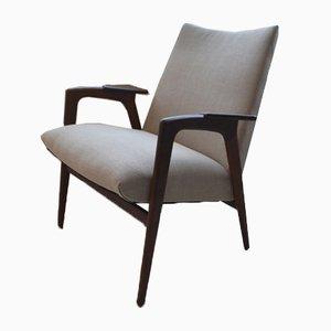 Mid-Century Ruster Teak Sessel von Yngve Ekstrom für Pastoe, 2er Set