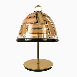 Lampada da tavolo Mid-Century di Ercole Barovier per Barovier & Toso, 1959