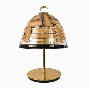 Lámpara de mesa Mid-Century de Ercole Barovier para Barovier & Toso, 1959