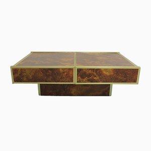 Coffee Table from Maison Lancel, 1970s