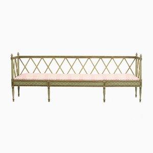 Gustavian Swedish Bench, 1890s