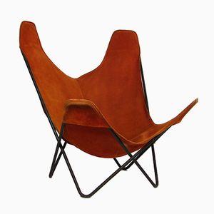 Vintage Hardoy Chair or Butterfly Chair by Jorge Hardoy-Ferrari