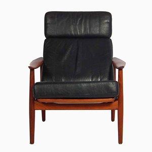 Chaise FD 164 Vintage par Arne Vodder pour France & Son