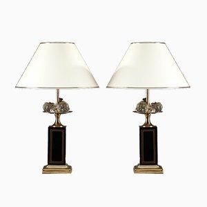 Lampade da tavolo, anni '80, set di 2