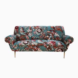 Geschwungenes Italienisches Vintage Sofa