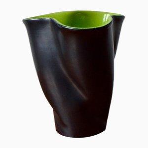 Vintage Freiform Vase von Fernand Elchinger
