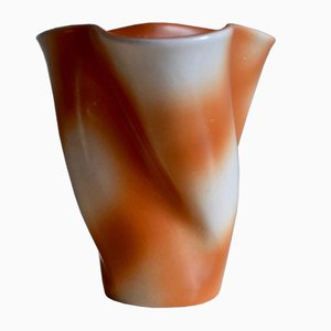 Mid-Century French Handkerchief Vase by Fernand Elchinger