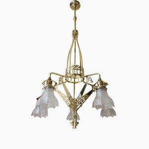 Antique Art Nouveau Chandelier