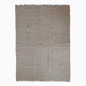 Handgearbeiteter Indischer Vintage Kilim Teppich, 1970er