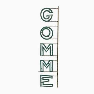 Vintage Gomme Sign