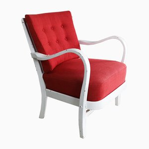 Danish Red Chair, 1970s