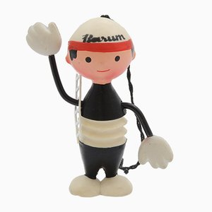 Mid-Century Barum Man Rubber Figure by Libuse Niklova for Fatra Napajedla