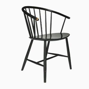 J64 Stuhl von Ejvind Johansson für FDB Mobler, 1957