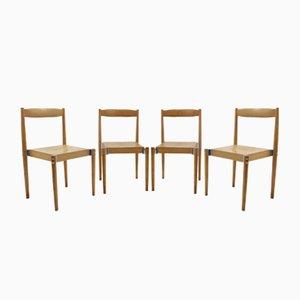 Chaises Vintage par Miroslav Navrátil, 1960s, Set de 4