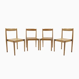Vintage Chairs by Miroslav Navrátil, 1960s, Set of 4
