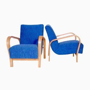 Lounge Chairs by Karel Kozelka & Antonin Kropacek for Interier Praha, Set of 2