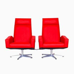 Verstellbare Vintage Sessel, 1970er, 2er Set