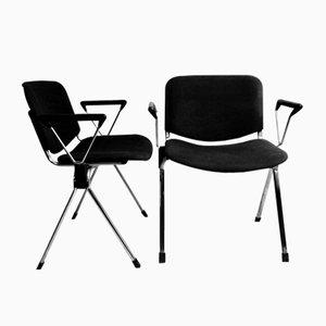 Vintage Stühle von Lübke, 2er Set
