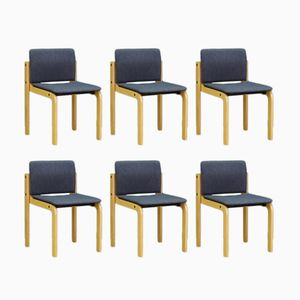 Mid-Century Danish Chairs from Fritz Hansen, Set of 6