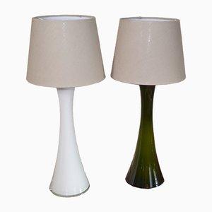 Lampes de Bureau Diabolo Mid-Century par Berndt Nordstedt pour Bergboms, Set de 2