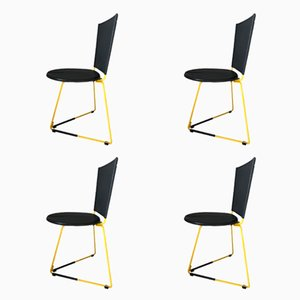 Terna Stühle von Gaspare Cairoli für Seccose, 1985