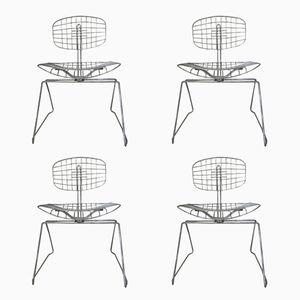 Beaubourg Stühle von Michel Cadestin, 1970er, 4er Set
