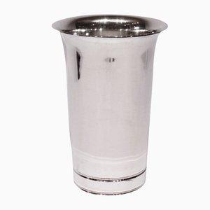 Vase Décoratif Vintage en Argent Poinçonné de Cohr