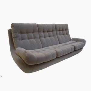Vintage Samt Sofa, 1970er