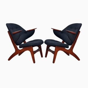 Model 33 Armchairs by Carl Edward Matthes, 1950s, Set of 2