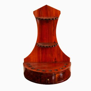 Antique Walnut & Cherry Pipe Stand