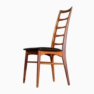 Chaises de Salon Modèle Lis par Niels Koefoed pour Hornslet Møbelfabrik, 1960s, Set de 6