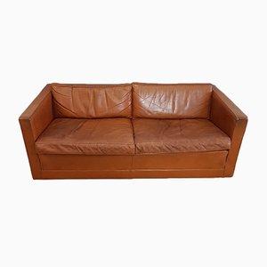Canapé en Cuir Cognac par Pierre Paulin pour Artifort, 1960s