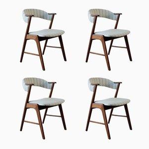 Esszimmerstühle von Kai Kristiansen für Korup Stolefabrik, 1960er, 4er Set
