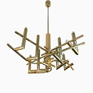 German Chandelier by Gaetano Sciolari for Stilkronen, 1970s