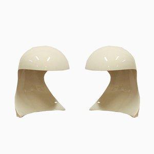 Tischlampen von Dario Tognon & Studio Celli für Artemide, 1969, 2er Set