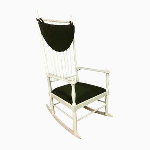 Sedia a dondolo vintage di Karl Axel Adolfsson per Gemla, Scandinavia
