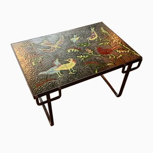Tavolino vintage di Jacques Adnet