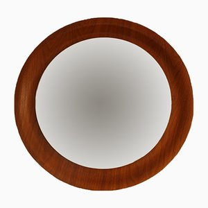 Danish Teak Wall Mirror, 1960s