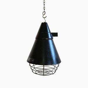 East German Industrial Lamp from VEB Narva Artas Arnstadt, 1960s