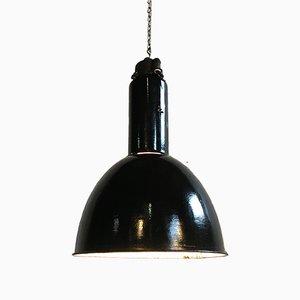 Industrial Bauhaus Enamel Pendant Lamp from Elektrosvit, 1930s