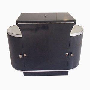 Mueble bar Art Déco en negro de D.I.M.