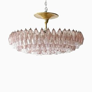 Chandeliers for venini online at pamono mid century polyhedra chandelier by carlo scarpa for venini aloadofball Images