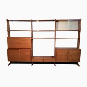 Swedish Parad Wall Unit in Teak from String, 1966
