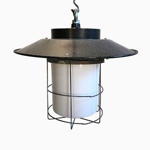 Lampada vintage industriale, anni '60